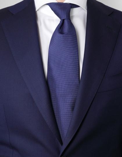 Luigi Borrelli Krawatte in blau lila strukturiert