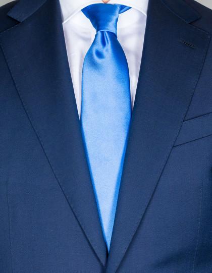 Kiton Krawatte in blau