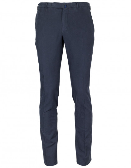 Incotex Winterchino Slim Fit in dunkelblau