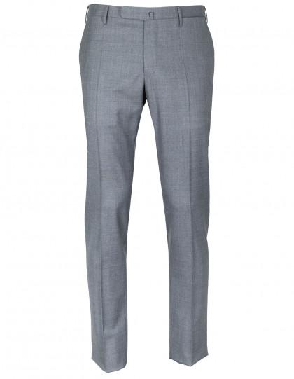 Incotex Kombinationshose Slim Fit in hellgrau aus Super 130'S Wolle