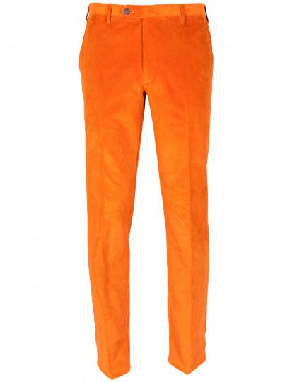 Rota Feincordhose in orange