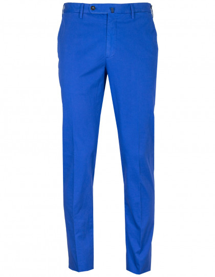 "Incotex Chino ""Royal Batavia"" High Comfort in ultramarinblau"