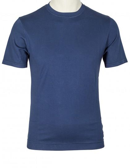 Fedeli T-Shirt in dunkelblau aus Jersey